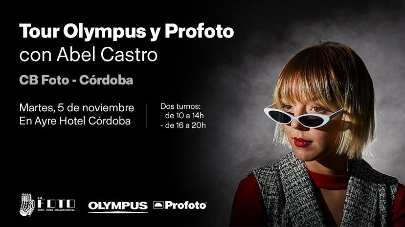 Tour Olympus y Profoto con Abel Castro